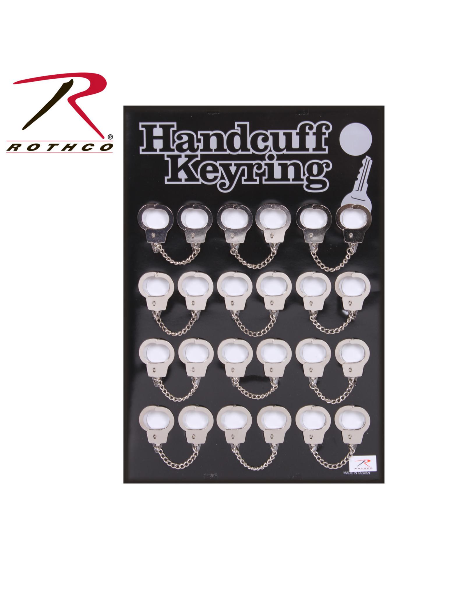 Mini Handcuff Key Ring