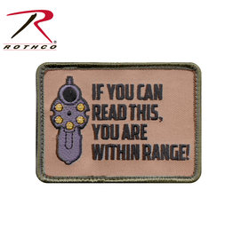 Morale Patch - If You Can Read