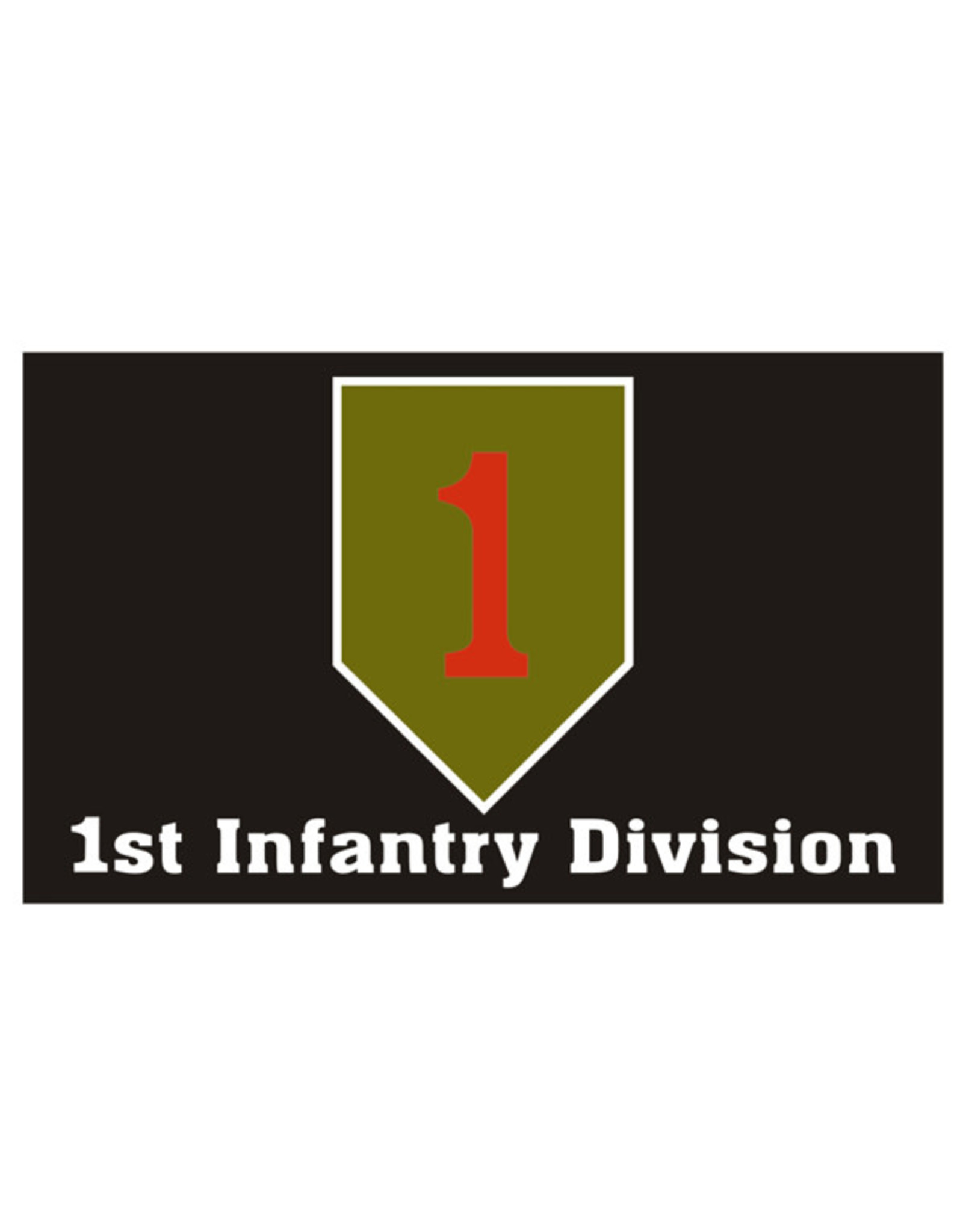 Flag - 3'x5' - 1st Infantry Division Big Red One