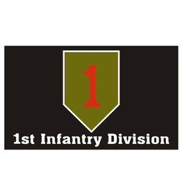 Flag 3'x5' - 1st Infantry Division Big Red One