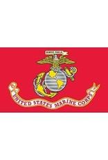 Flag - 3'x5' - USMC