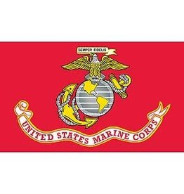 Flag - 3ftx5ft - USMC