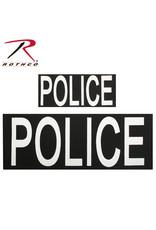 Police Patch W/Hook