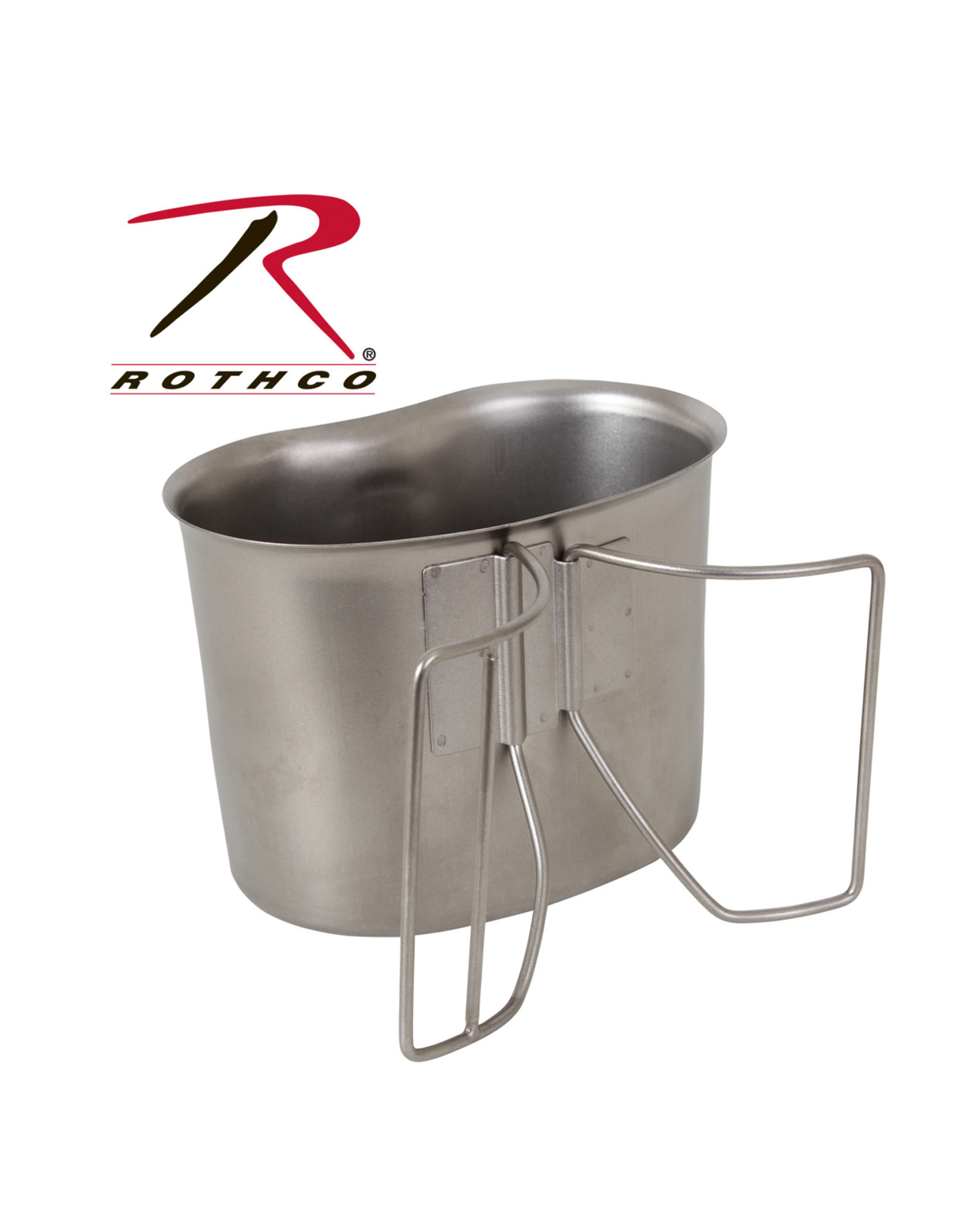 Rothco Rothco Stainless Steel Canteen Cup - NOT GI