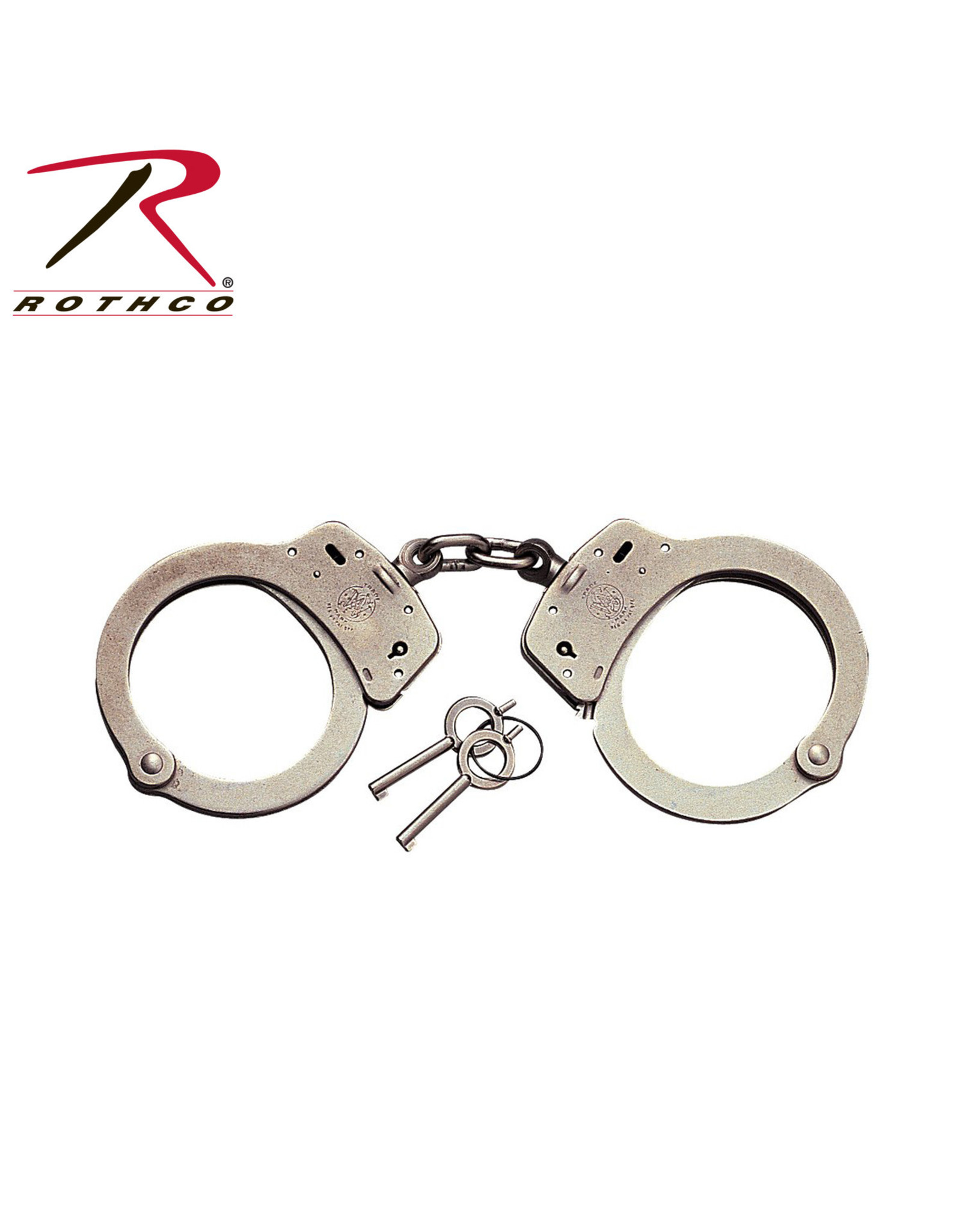Smith & Wesson Nickel Handcuffs