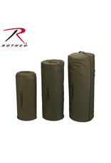 Side Zipper Canvas Duffel Bag