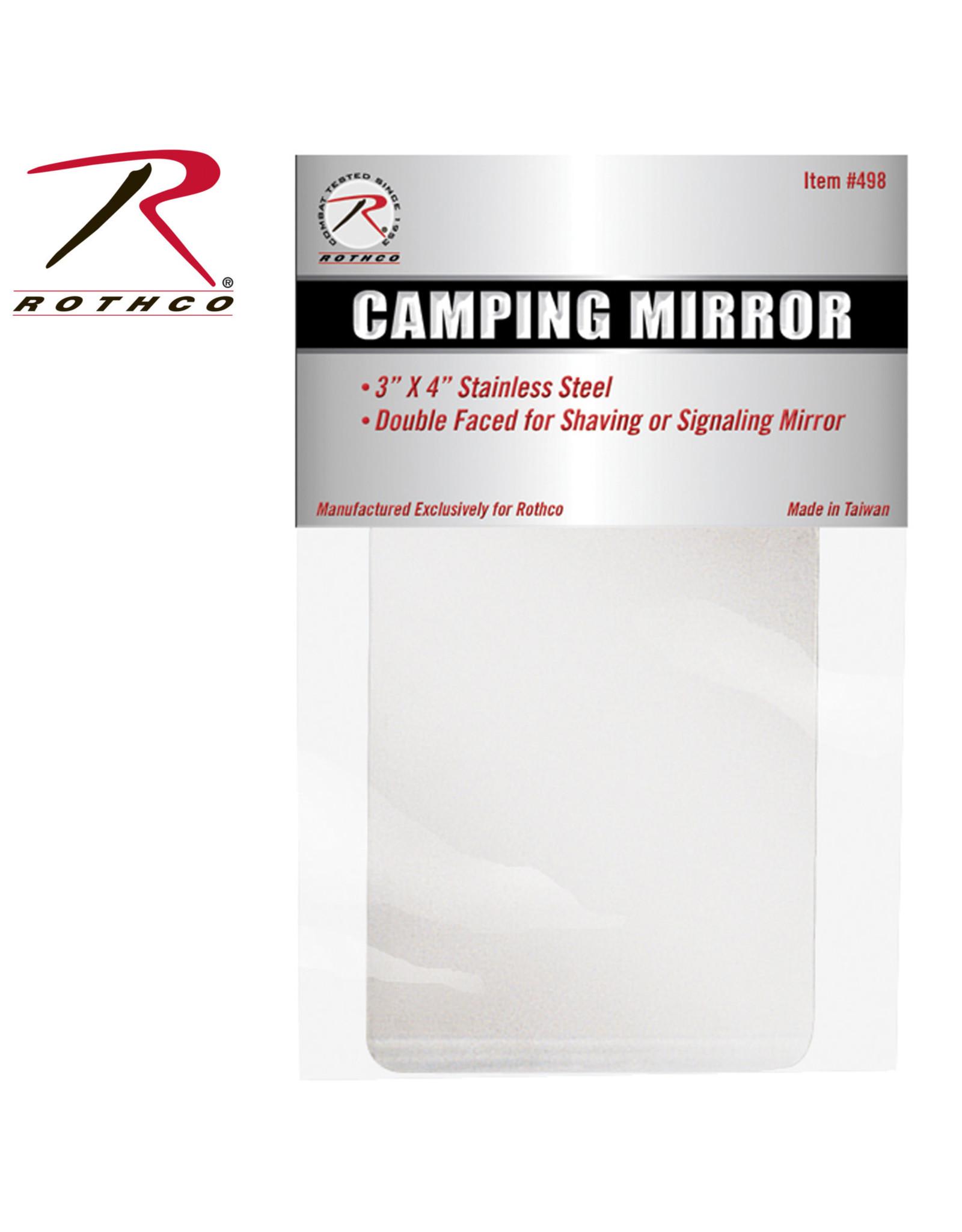 Simple Camping Mirror