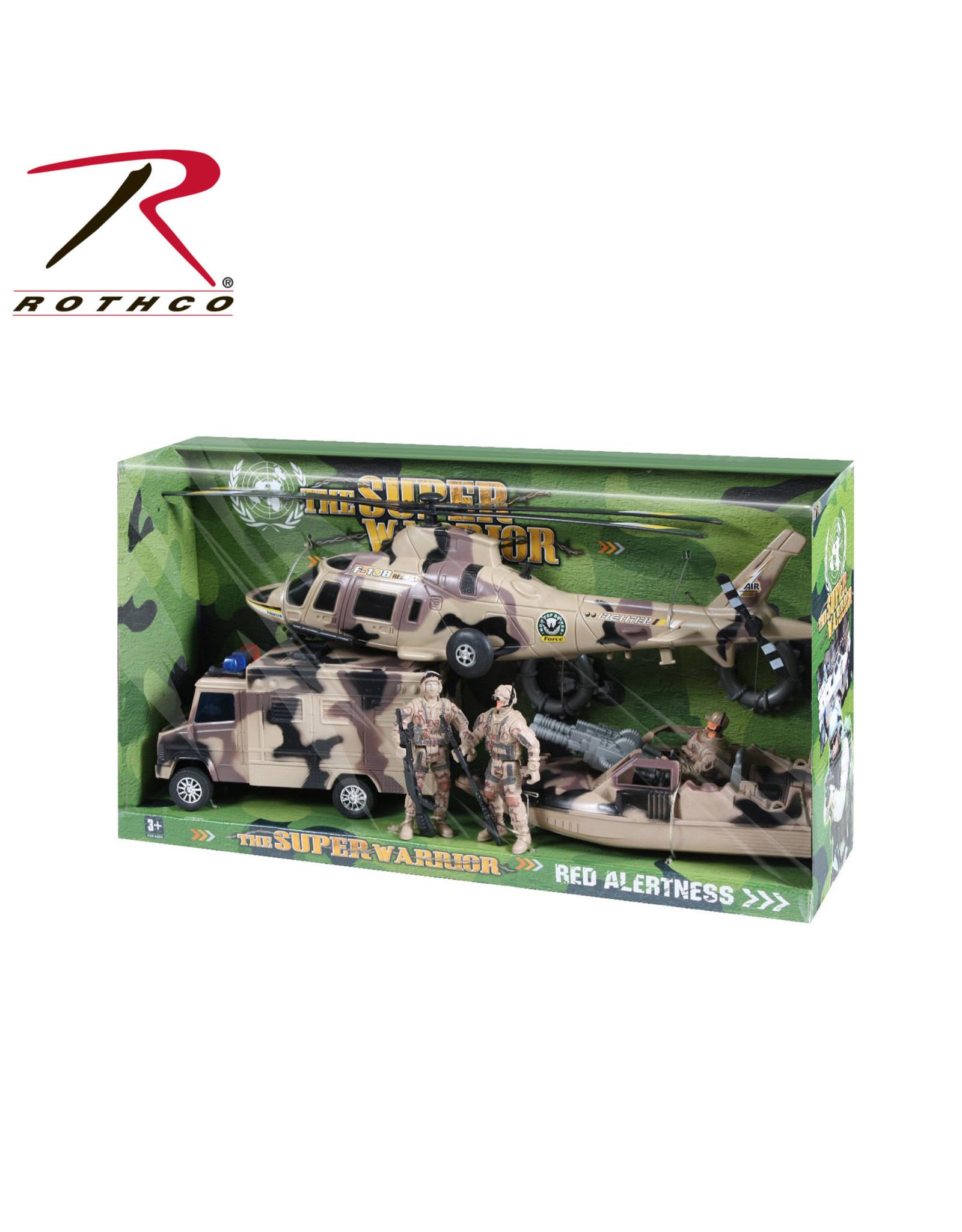 Super Warrior Playset Toys