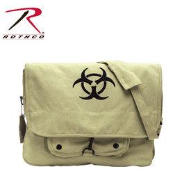 "Vintage ""Bio-Hazard"" Bag"
