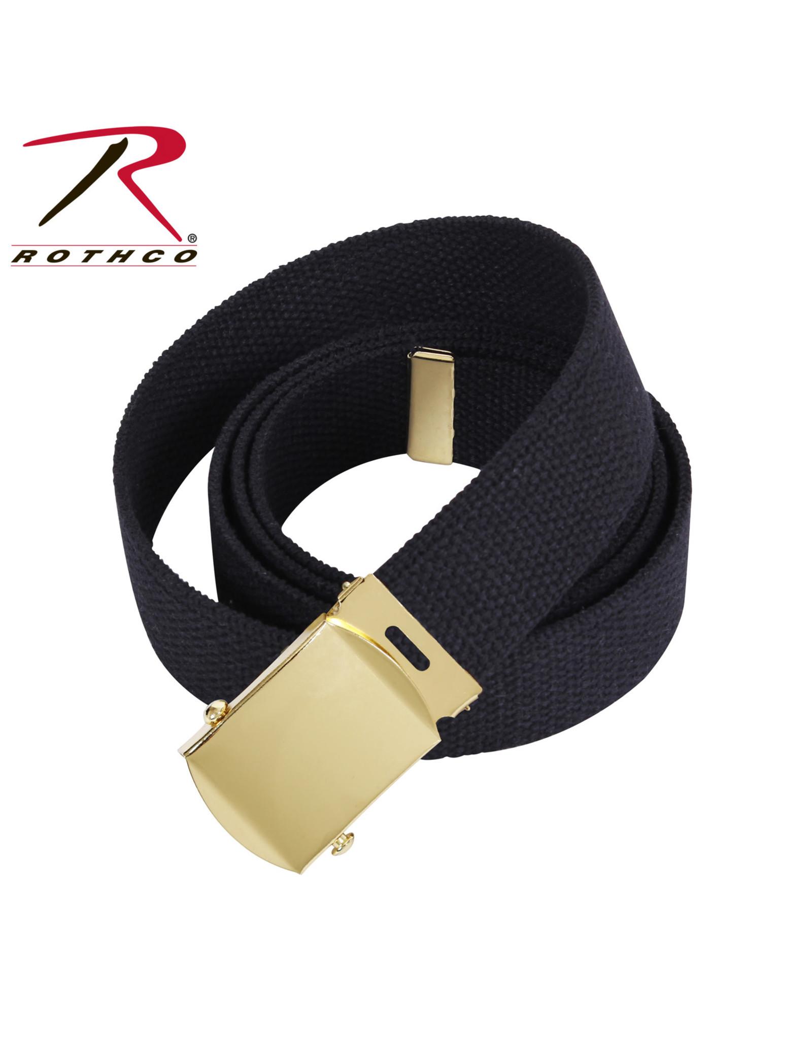 Web Belt w/ Brass Buckle