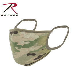 Reversible 3-Layer Face Mask Multicam/Coyote