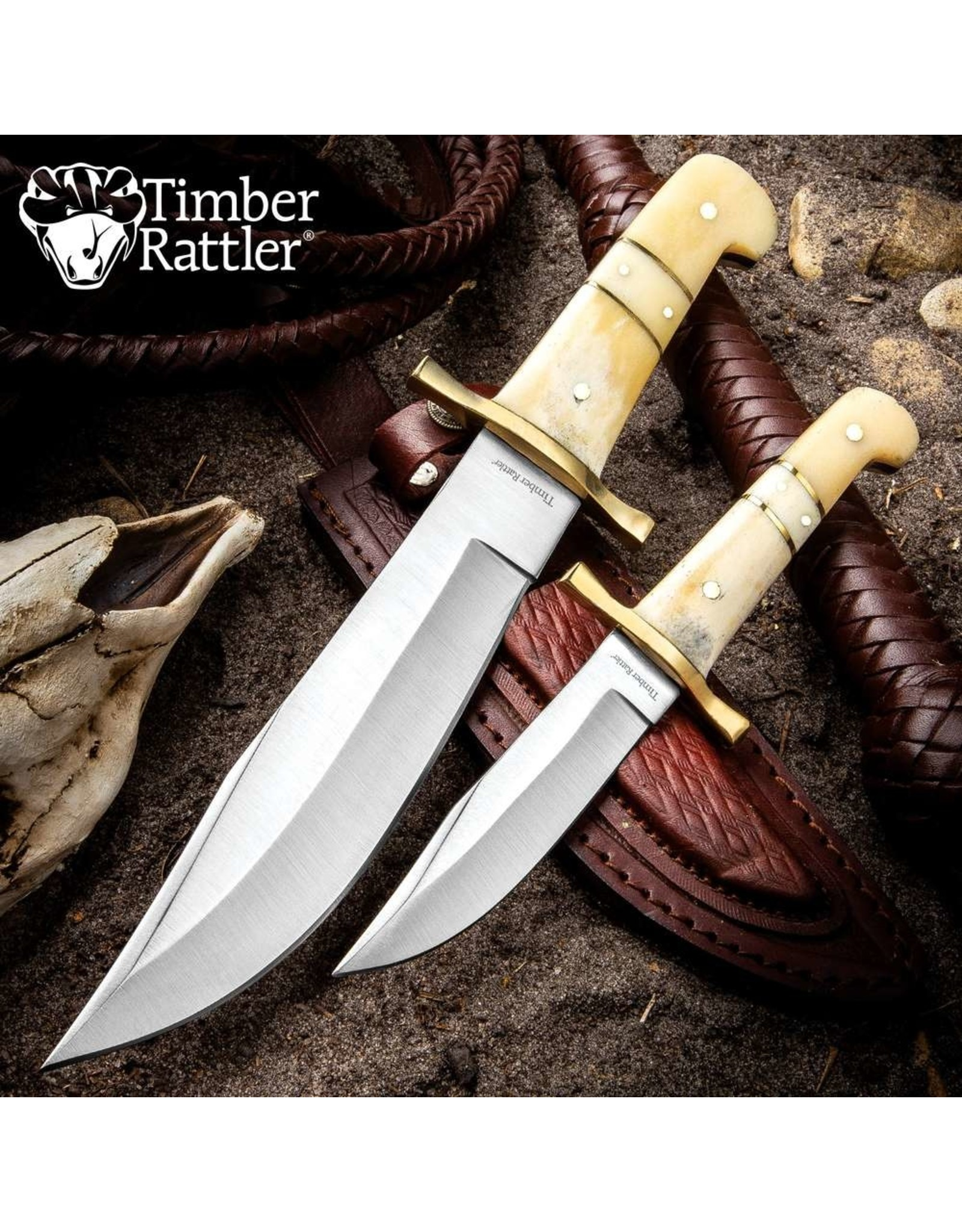 Border Rider Bowie Set w/ Sheath