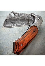 Tactical Spring Assisted Open Pocket Knife Cleaver