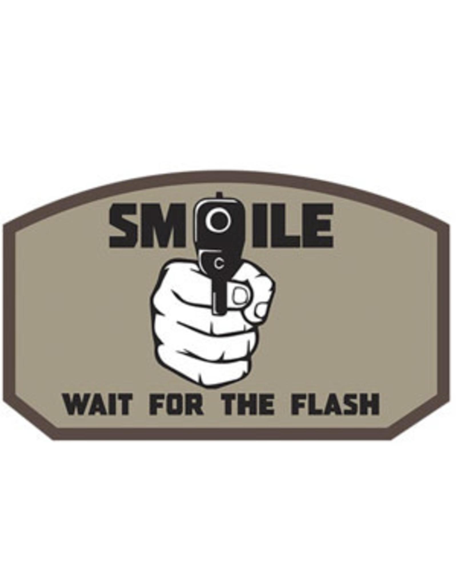 Morale Patch - Smile Flash