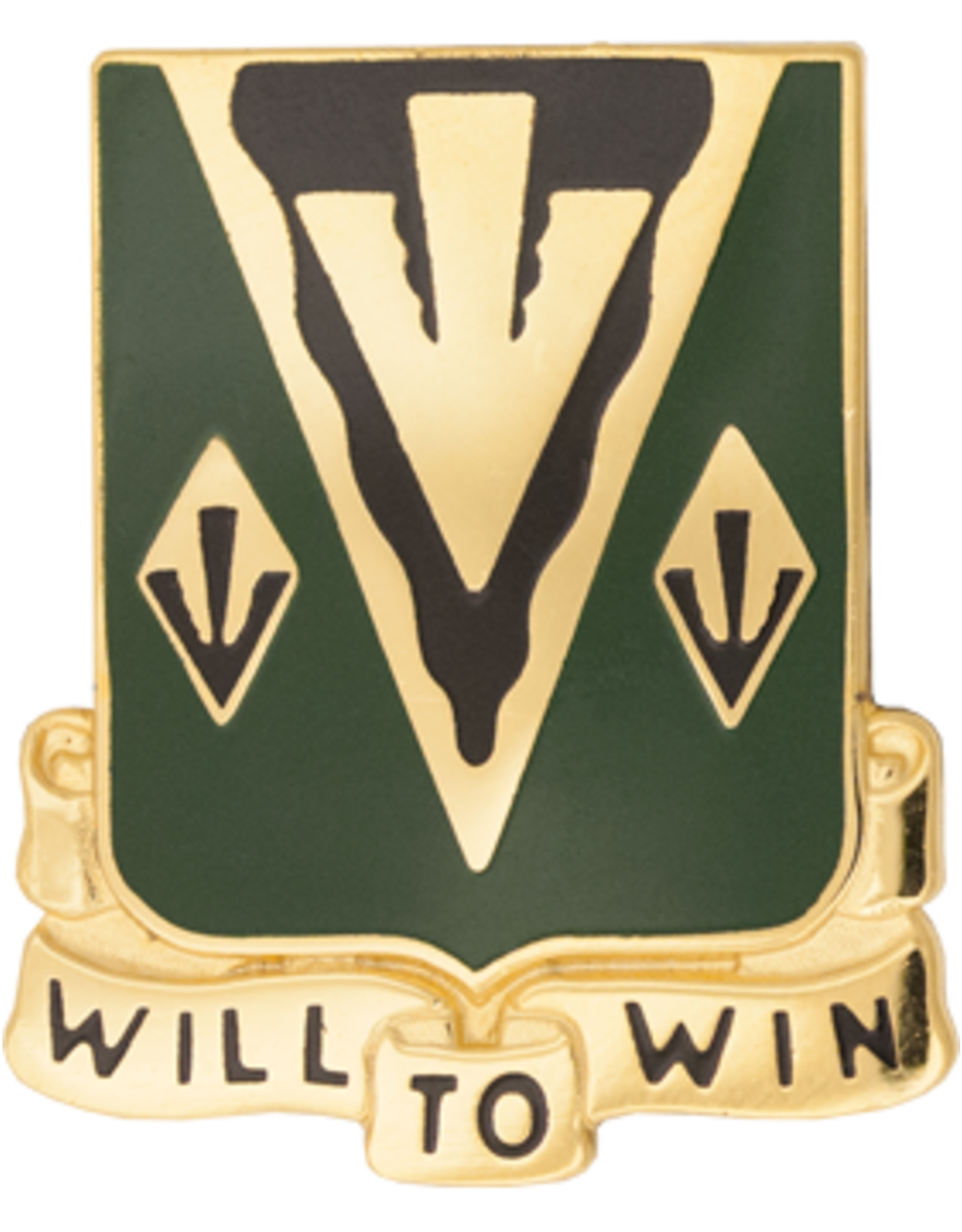 635th Armor Crest - Will To Win