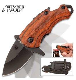 Timber Wolf Money Clip Pocket Knife
