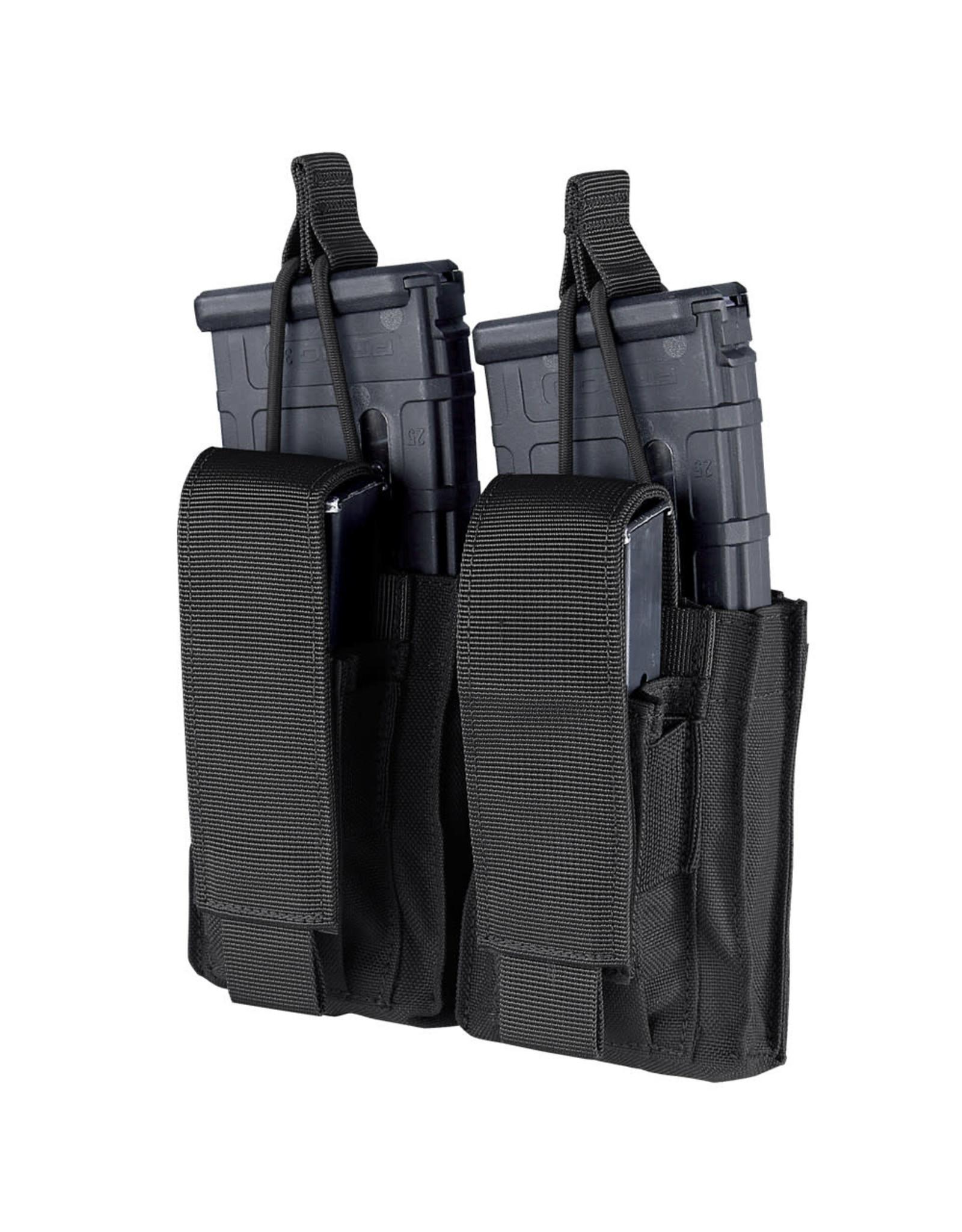 Double AK Kangaroo Mag Pouch - Black