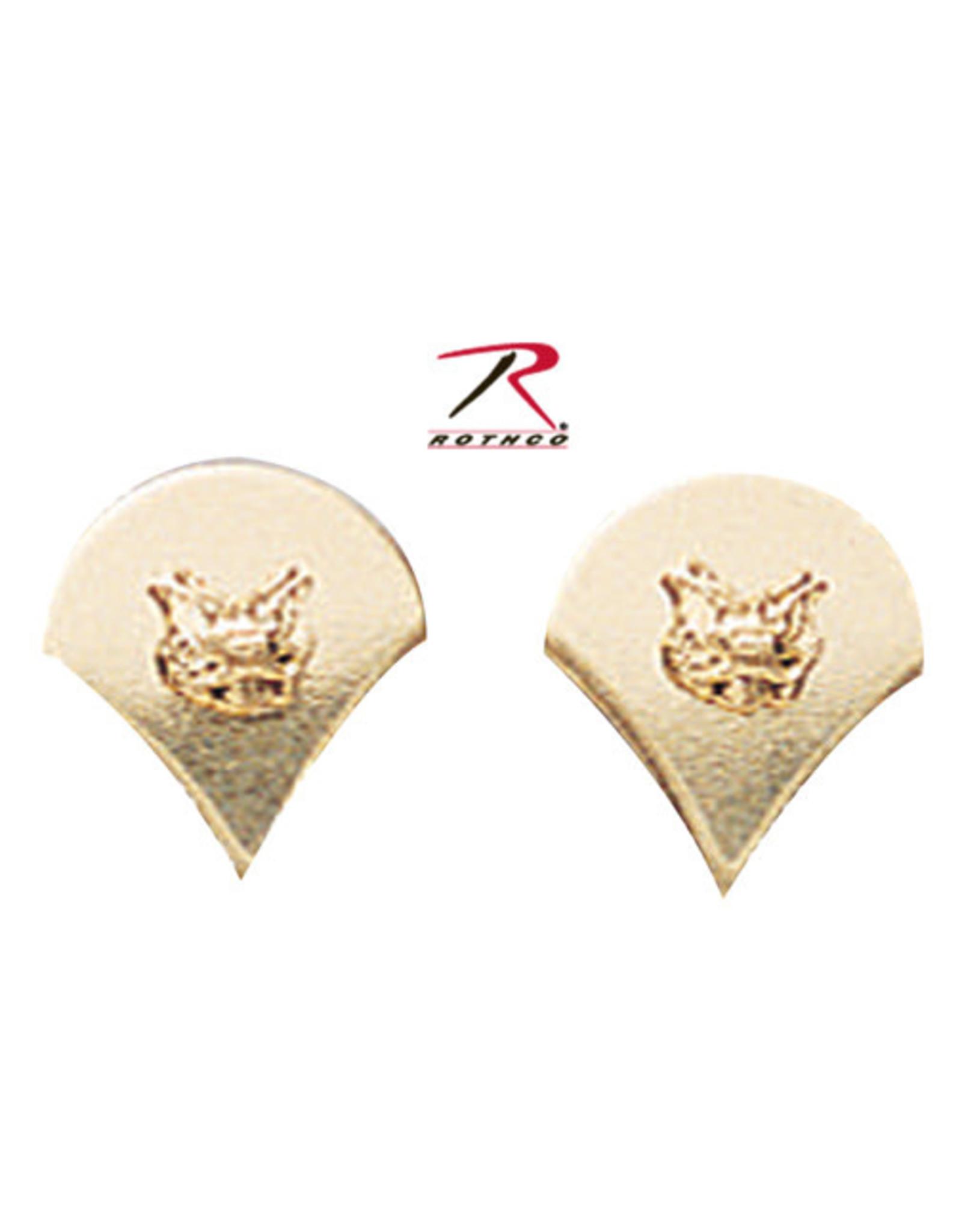 Gold Pin On Rank (E4) SPC - Specialist