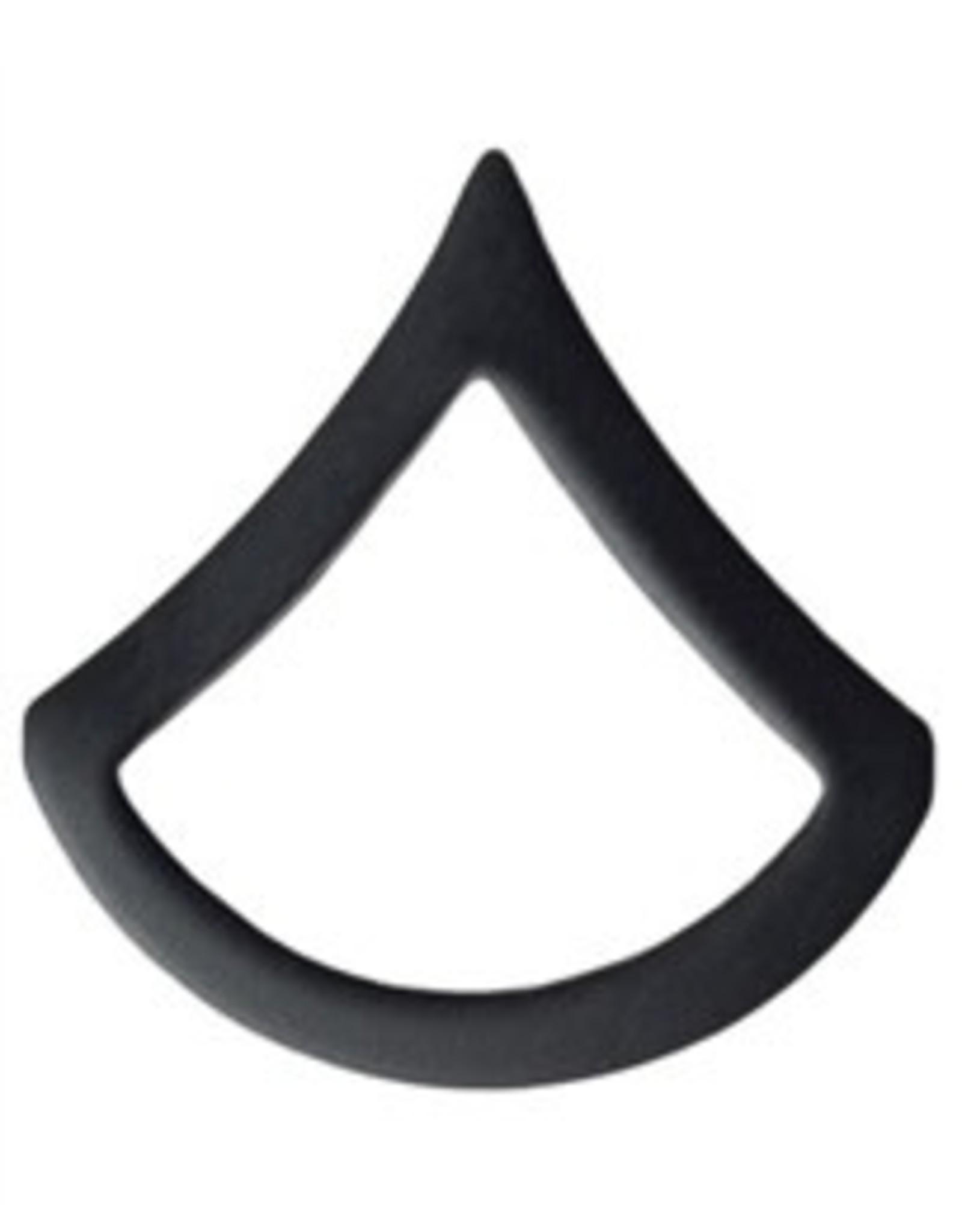 Black Pin On Rank (E3) PFC - Private 1st Class