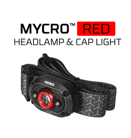 Nebo Mycro Rechargeable Headlamp (RED LIGHT)
