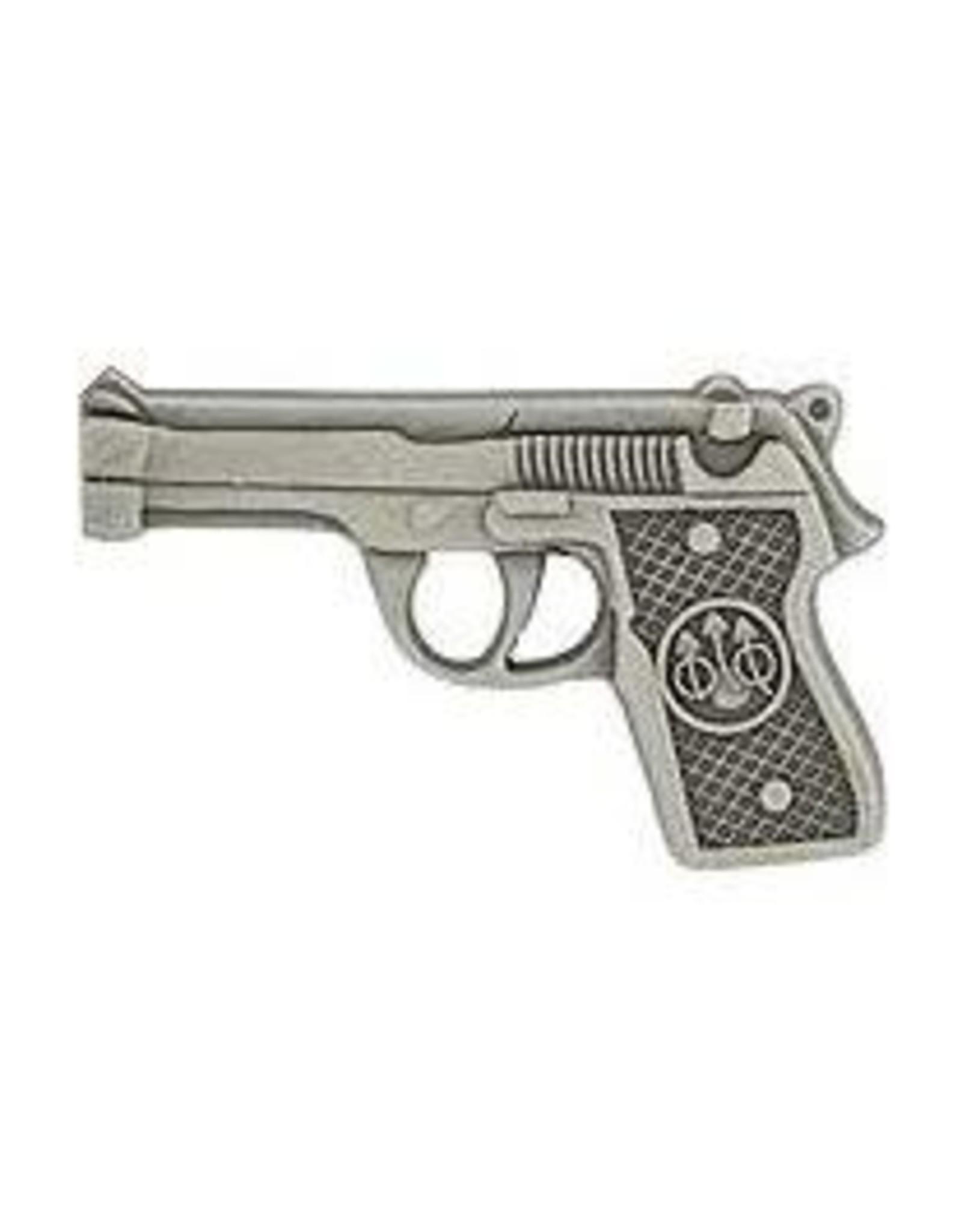 Pin - 45Cal Pistol Silver Model 1911
