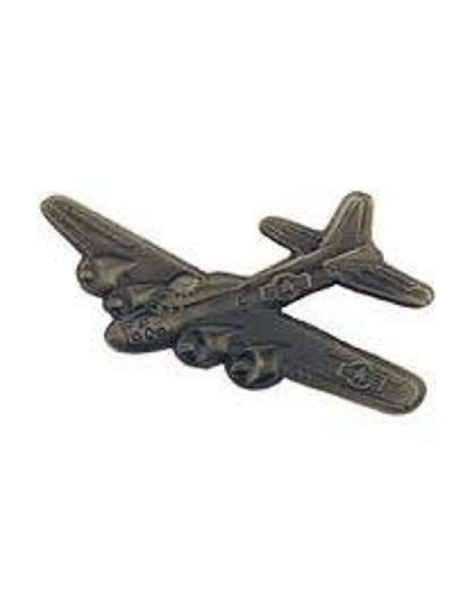 Pin - Airplane B-17 Flying Fortress Pewter