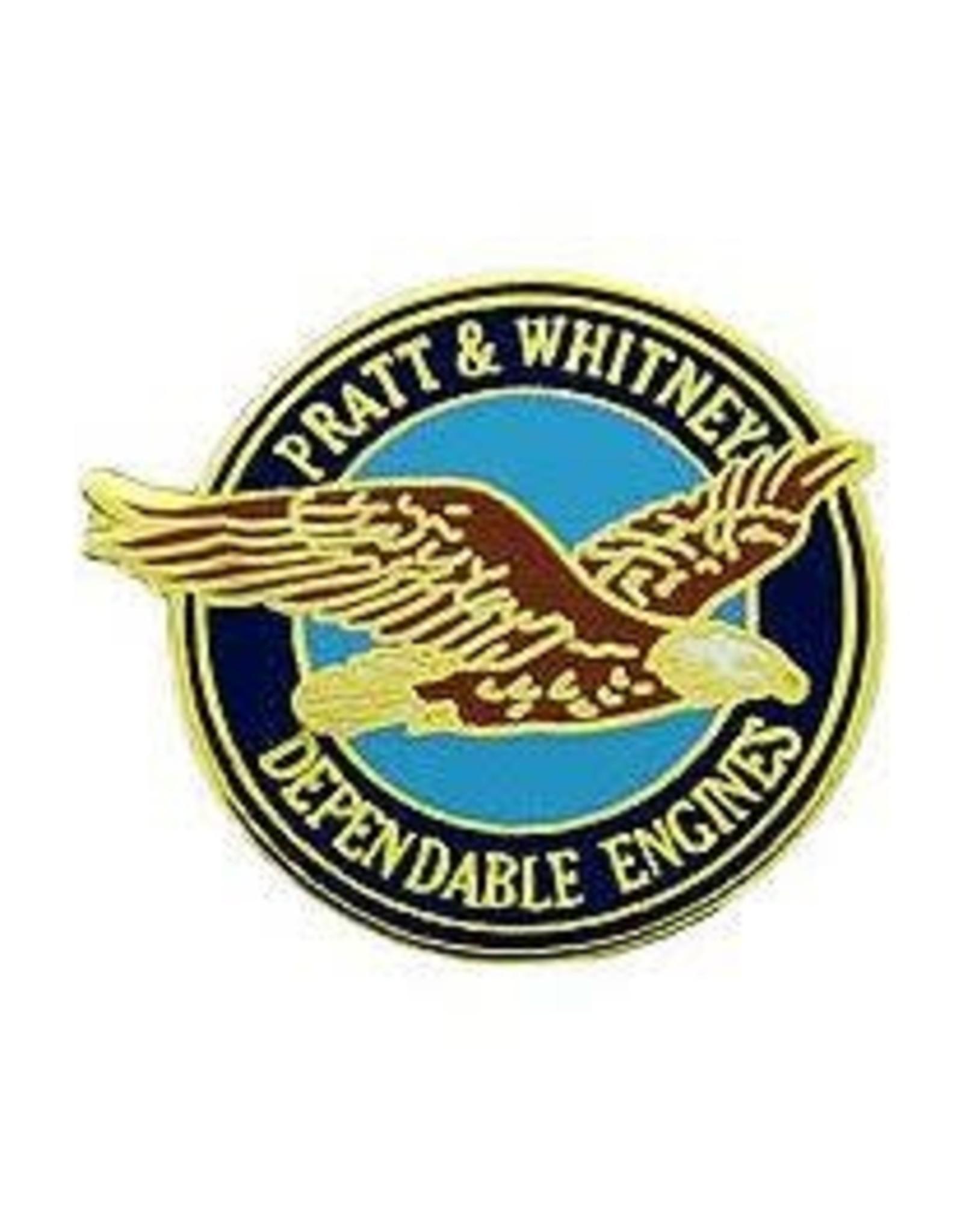 Pin - Airplane Pratt & Whitney Logo