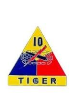 Pin - Army 010th Arm Div