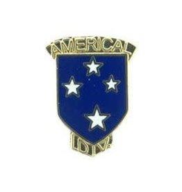 Pin - Army 023rd Inf Div AM w/ Tab