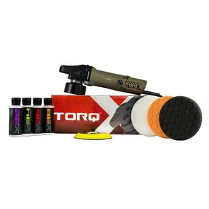 TORQ BUF503X - TORQX Random Orbital Polisher Kit (8 Items)