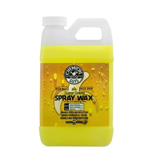 Chemical Guys WAC21564 - Blazin' Banana Natural Carnauba Spray Wax (64 oz - 1/2 Gal)