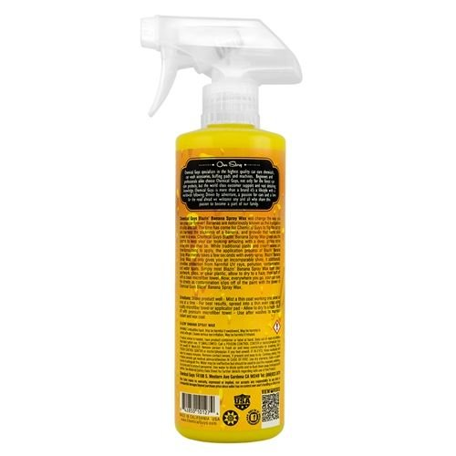 Chemical Guys WAC21516 - Blazin' Banana Natural Carnauba Spray Wax (16oz)