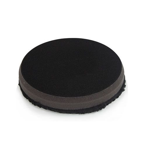 Hex-Logic BUFX_301_4 - Black Optics Microfiber Black Polishing Pad (4.5'')