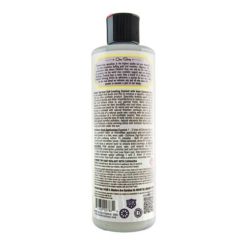 Chemical Guys WAC21016 - Extreme Top Coat Carnauba Wax And Sealant In One (16 oz)