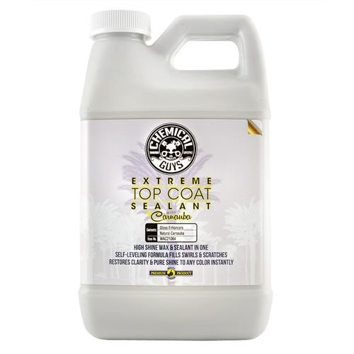 Chemical Guys Canada WAC21064 - Extreme Top Coat Carnauba Wax And Sealant In One (64 oz - 1/2 Gal)