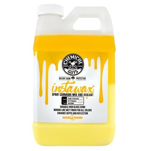 Chemical Guys Canada WAC20964 - InstaWax Liquid Carnauba Shine and Protection Spray (64 oz - 1/2 Gallon)