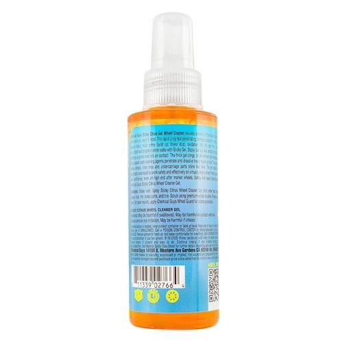 Chemical Guys CLD10504 - Sticky Citrus Gel Wheel & Rim Cleaner (4 oz)