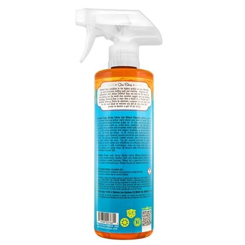 Chemical Guys Canada CLD10516 - Sticky Gel Citrus Wheel & Rim Cleaner Gel (16 oz)