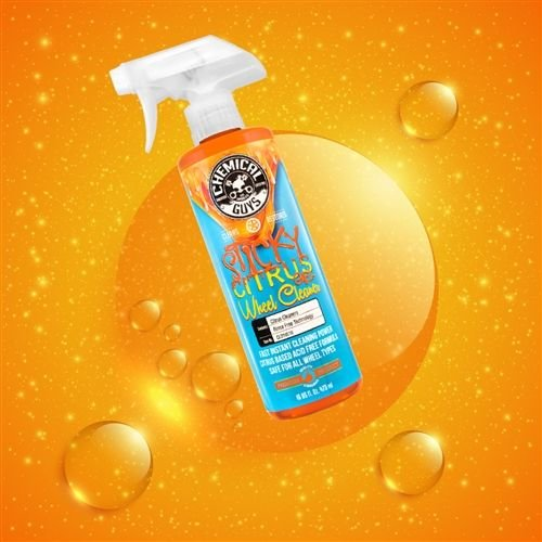 Chemical Guys Canada CLD10564 - Sticky Citrus Gel Wheel & Rim Cleaner (64 oz - 1/2 Gal)