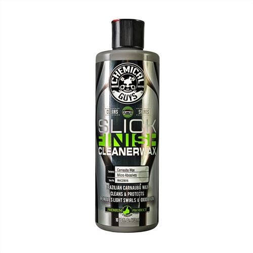 Chemical Guys WAC20616 - Slick Finish Cleaner Wax (16 oz)