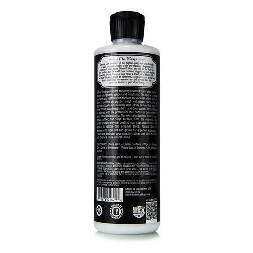 Chemical Guys TVD_201_16 - Natural Shine, Satin Shine Dressing (16 oz)