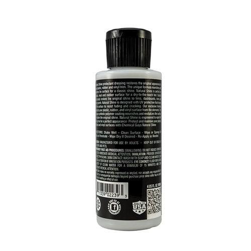 Chemical Guys TVD_201_04 - Natural Shine, Satin Shine Dressing (4 oz)