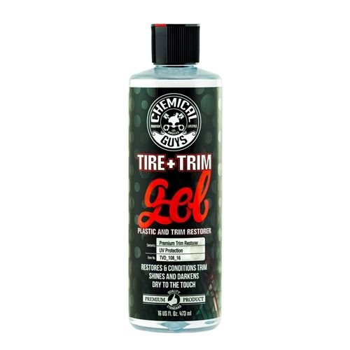 Chemical Guys TVD_108_16 - Tire and Trim Gel for Plastic and Rubber (16 oz)