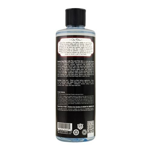 Chemical Guys Canada TVD_108_16 - Tire and Trim Gel for Plastic and Rubber (16 oz)