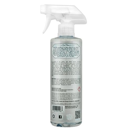 Chemical Guys Canada SPI_993_16 - Nonsense Colorless & Odorless All Surface Cleaner (16 oz)