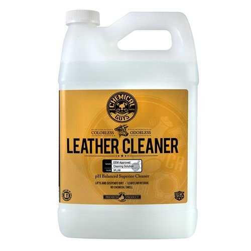 Chemical Guys SPI_208 - Leather Cleaner - Colorless & Odorless Super Cleaner (1 Gal)