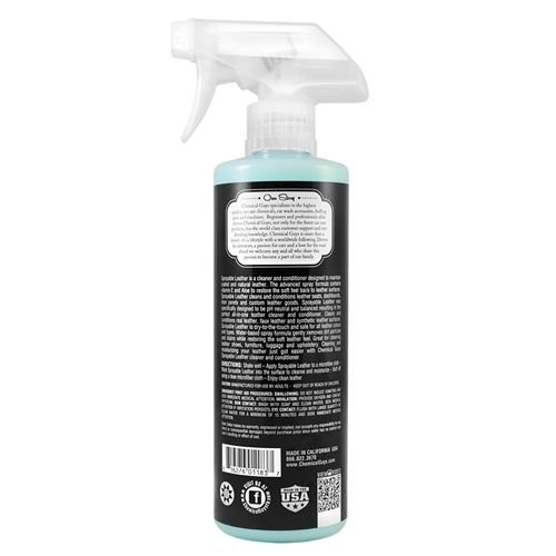 Chemical Guys Canada SPI_103_16 - Sprayable Leather Cleaner & Conditioner in One (16 oz)