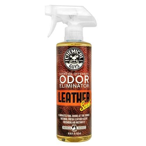 Chemical Guys SPI22116 - Extreme Offensive Odor Eliminator, Leather Scent (16 oz)