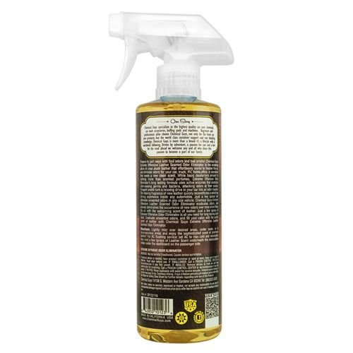 Chemical Guys Canada SPI22116 - Extreme Offensive Odor Eliminator, Leather Scent (16 oz)