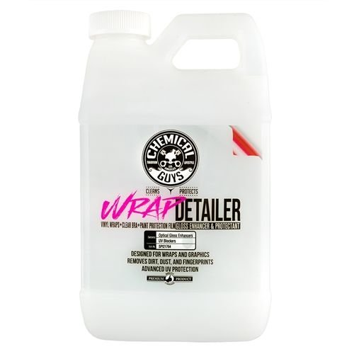 Chemical Guys SPI21764 - Wrap Detailer Gloss Enhancer & Protectant for Vinyl Wraps (64 oz - 1/2 Gallon)